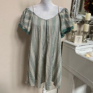Anthropologie Boho Dress Size Small